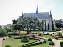Château de Montreuil-Bellay Γαλλία Στοκ Εικόνες
