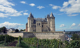 Château de Saumur Royalty Free Stock Photo