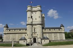 Chateau de Vincennes near Paris, France Royalty Free Stock Photo