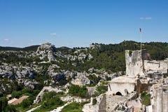 Château des Baux Royalty Free Stock Images