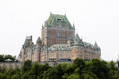 Château frontenac Royalty Free Stock Photo