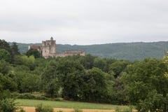 Châteauen de Beynac Royaltyfria Bilder