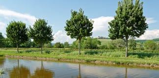 Châteauneuf en Auxois Stockbild