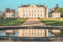 Châteaux de Craon, el valle del Loira, la el Loira de Château de fotografía de archivo
