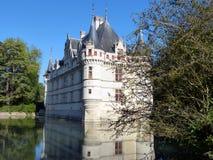 Château av Azay-le-Rideau 2 Royaltyfri Fotografi