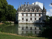 Château azay-le-Rideau Royalty-vrije Stock Afbeelding