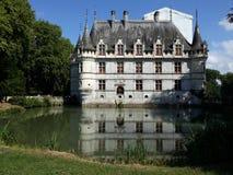 Château Azay-Le-Rideau Lizenzfreies Stockbild