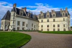 Château d'Amboise, Amboise, Frankrike Arkivbild