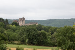 Château de贝纳克 免版税库存图片