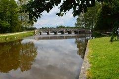 Château de Chambord, γειτονιά Στοκ φωτογραφίες με δικαίωμα ελεύθερης χρήσης
