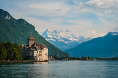 Château de Chillon Foto de Stock Royalty Free