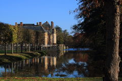 Château de la Ferte, Frankreich Lizenzfreie Stockbilder