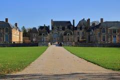 Château de la Ferte, Frankrike royaltyfri fotografi