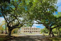 Château de Labourdonnais, Маврикий Стоковые Фото