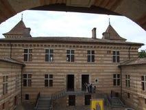 Château DE Laréole - Frankrijk Stock Afbeelding