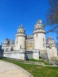 Château DE Pierrefonds in Frankrijk Royalty-vrije Stock Afbeelding