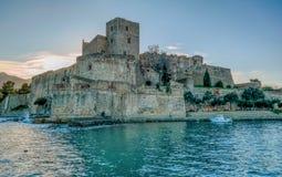 Château de real Collioure Imágenes de archivo libres de regalías