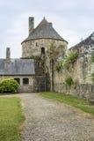 Château de Santo-Sauveur-le-Vicomte, Normandía, Francia, Imagen de archivo libre de regalías