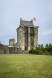 Château de Santo-Sauveur-le-Vicomte, Normandía, Francia, Imagenes de archivo