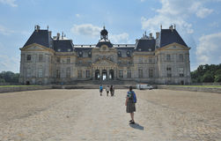 Château de Vaux-le-Vicomte immagine stock