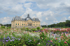 Château de Vaux-le-Vicomte Fotografia de Stock Royalty Free