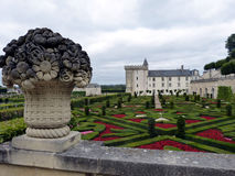 Château de Villandry 2 royaltyfri fotografi