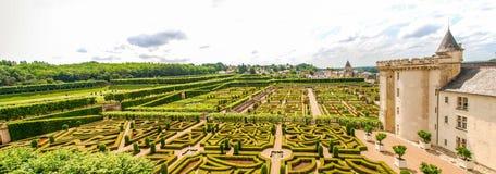 Château et jardins de Villandry стоковые изображения rf