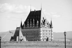 Château Frontenac,魁北克市 免版税库存图片