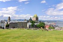 Château Frontenac, Quebec Fotografia Royalty Free