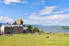 Château Frontenac, Quebec Zdjęcie Royalty Free