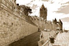 Château Frontenac, Quebec Obraz Royalty Free