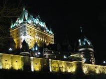 Château Frontenac, Vieux-Québec Fotografía de archivo