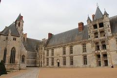 Châteaudun -法国的城堡 免版税库存图片