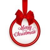 Chèque-cadeau de Noël ENV 10 Photos libres de droits