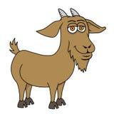 Chèvre de bande dessinée Image libre de droits