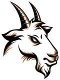 Chèvre fâchée illustration de vecteur