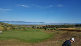 Ché vista, campo da golf fotografia stock libera da diritti
