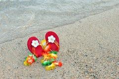 Chéri à la plage Image libre de droits