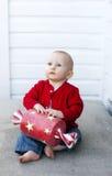 Chéri à Noël Photographie stock