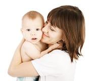 Chéri avec la mère photographie stock libre de droits