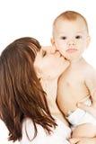 Chéri avec la mère photos libres de droits