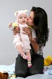 Chéri avec la mère Photo libre de droits
