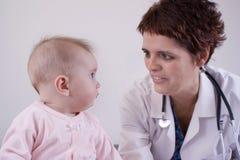 Chéri avec le docteur Photo libre de droits