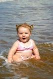 Chéri de plage Photographie stock libre de droits