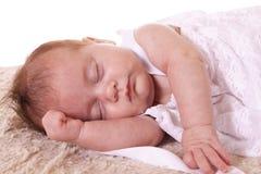 Chéri de sommeil Images libres de droits
