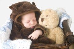 Chéri de sommeil Photographie stock