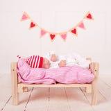 Chéri de sommeil mignonne Images stock