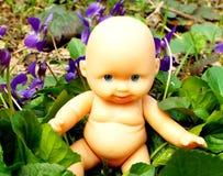 Chéri en fleurs Image libre de droits