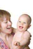 Chéri et mère Photos stock
