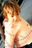 Chéri-fille mignonne Images stock